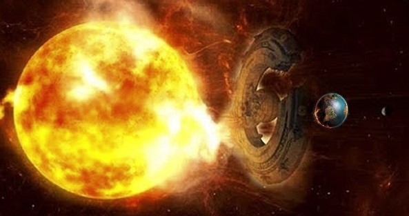 12ufo - Giant UFO Has Deviated a Huge Solar Storm Away From Earth (Video)