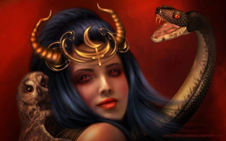 Lilith 1024x640 1 758x474 - Eve Was Not Adam's First Wife, It Was Lilith (Wife and Snake) But The Bible Keeps it Secret
