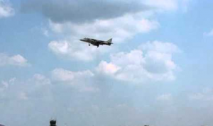 Glitch in the Matrix - Airliners and Army Jets Suspended in the Mid Air - Caught on Camera 1