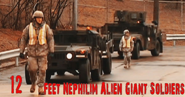 12 Feet Nephilim Alien Giant Soldiers - 12 Feet Nephilim Alien Giant Soldiers - US Army Developed Genetic Experiment to Revive