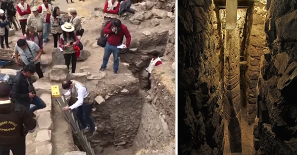 32tr - Discover Large underground tunnels of 3,000 years and bodies under the Aztec temple