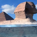 5555and sphinx underwarter 150x150 - A new study concludes that the pyramids and sphinx were immersed in ancient and pre-Eu-Egyptian civilization