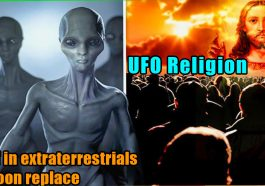UFO Religion Belief in extraterrestrials 265x186 - Belief in extraterrestrials will soon replace religion