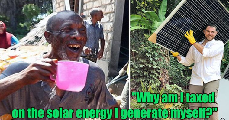 solar energy I generate myself 758x397 - This Guy Has To Pay Taxes For Solar Energy He Generates Himself