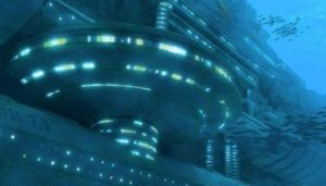 Alien base and Crystalline UFO discovered off the Coast of Mexico 2