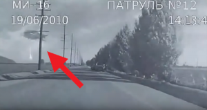 Dash Cam Records Alien Abduction and UFOs Sending Beams of Light - in Russia 1