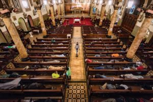 Some of the Church leaves homeless people to sleep in - The Gubbio Project's Vision 1