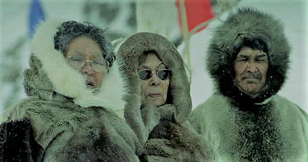 """native elders of arctic - """"The Sun, the Moon and the Earth are changing"""" - NASA Alert to the ancient Arctic natives"""
