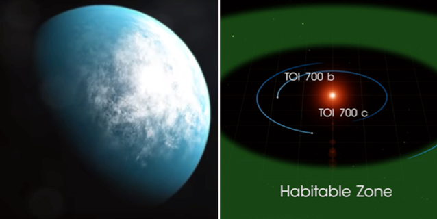 2397eb5a 04ec 4e56 9da8 ff976be08e45 - Nasa has found a planet similar to Earth - only 100 light-years away