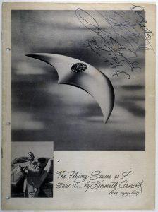 Flying saucer - UFO 1