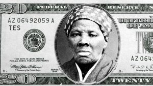 Black woman on new 20-dollar banknote 2020 - this is how it looks. 1