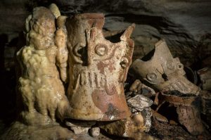 New find: Mayan Indian cave guarded by snake 1