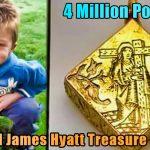 4 Million Pounds treasure 150x150 - Treasure Hunter: 3-year-old James Hyatt  finds 4 million in the UK