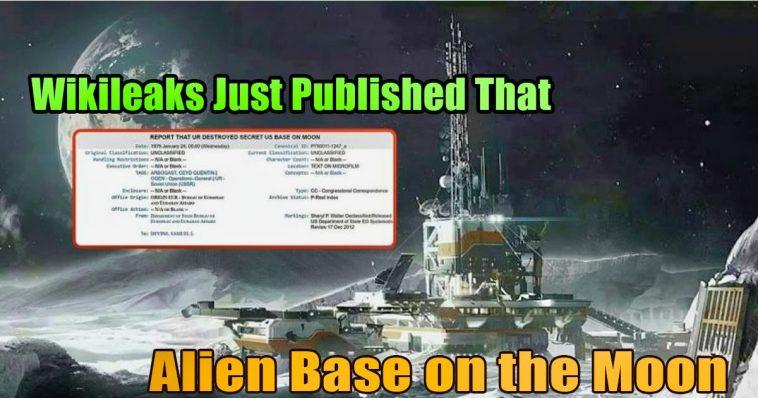 Destroying an alien base on the Moon 758x398 - Wikileaks Published That US Destroyed An Alien Base On The Moon