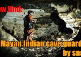 New find 265x186 - New find: Mayan Indian cave guarded by snake