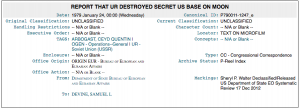 Wikileaks Published That US Destroyed An Alien Base On The Moon 1