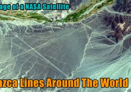 the image of a NASA satellite nazca lines 265x186 - This happens when you extend Nazca lines around the world (video)