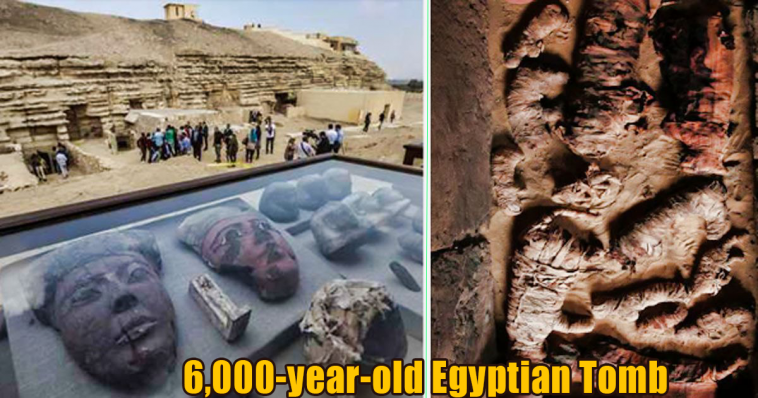 6000 year old Egyptian Tomb 758x398 - New Discovered 6,000-year-old Egyptian Tomb Contains Unusual Mummies