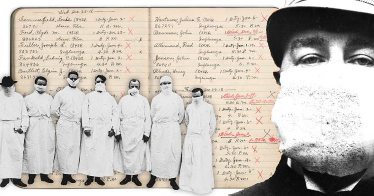 The Spanish flu pandemic of 1918 758x398 - Spanish illness claimed fifty million lives. Often patients died within 48 hours.