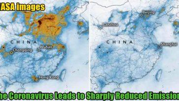 The coronavirus leads to sharply reduced emissions 364x205 - NASA images: The coronavirus leads to sharply reduced emissions