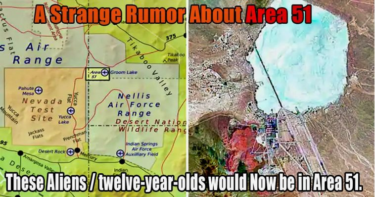 These aliens twelve year olds would now be in Area 51 1 758x398 - Area 51: So the truth about the aliens would be revealed