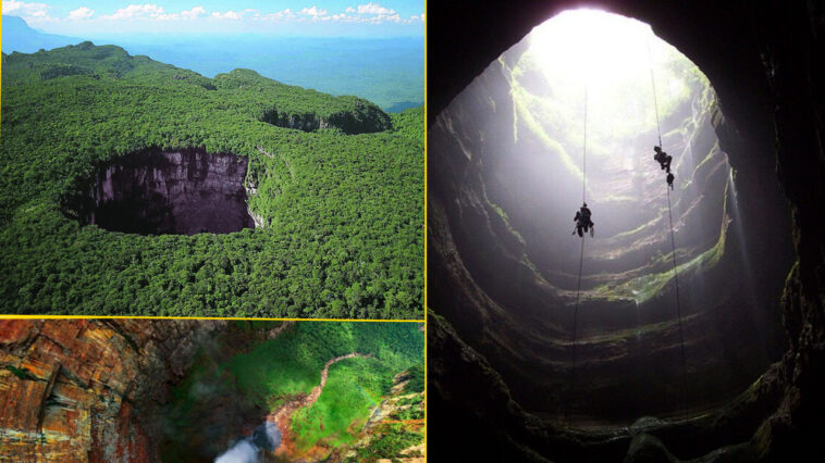SARISARINAMA 758x426 - Cerro Sarisariñama: An enigmatic hole that leads to a totally unknown world