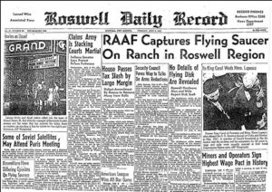 Facts about the unknown - A UFO crashed in Roswell in 1947 1