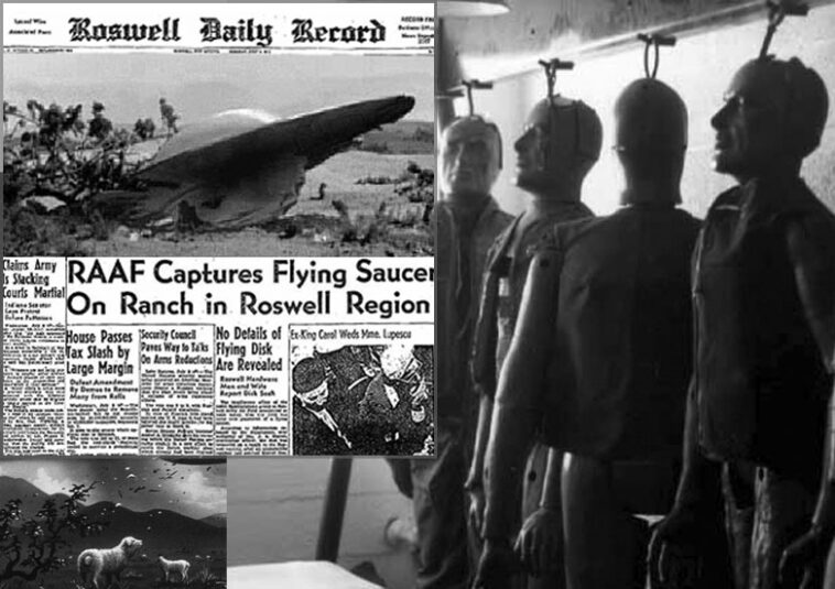 roswell11 758x535 - Facts about the unknown - A UFO crashed in Roswell in 1947