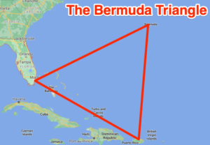 What is the Bermuda Triangle outside the United States? 2